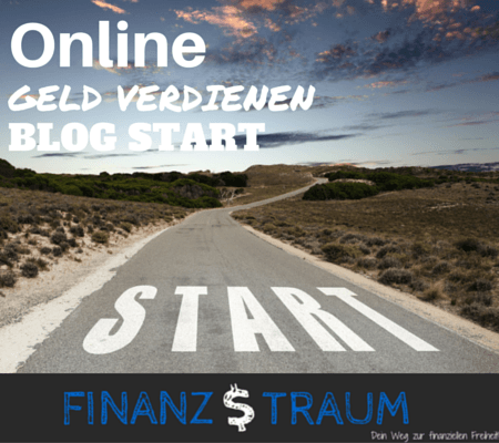 Online Geld verdienen - Blog Start