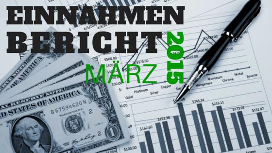 Einnahmen Bericht März 2015