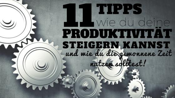 Produktivität steigern 2