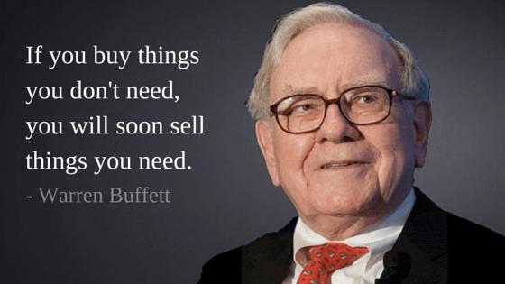 3. Tipps von Warren Buffett