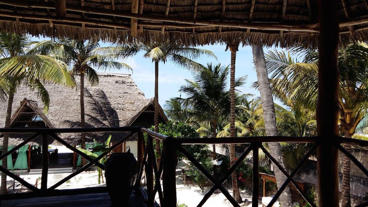 Ausblick Sansibar