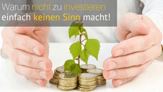 Geld investieren macht Sinn