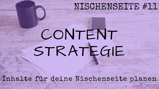 NISCHENSEITE #11 Content Strategie