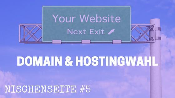 NISCHENSEITE #5 Domain & Hostingwahl